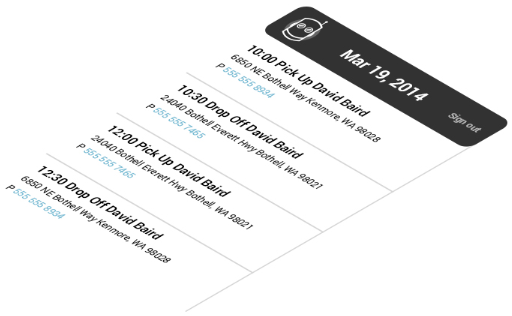 DispatchBot's Mobile Application